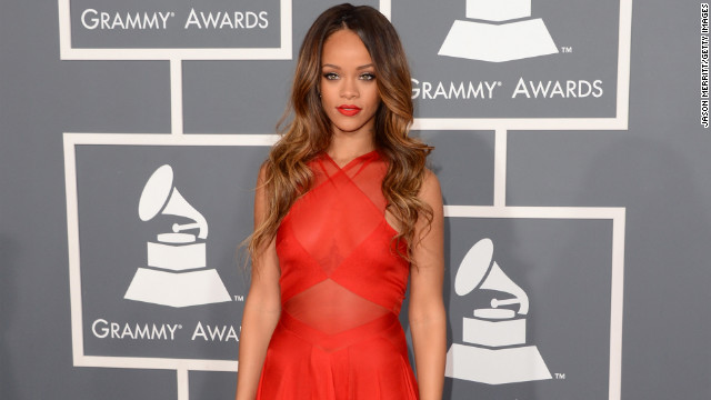 Grammys: On The Red Carpet At The 2013 Grammy Awards