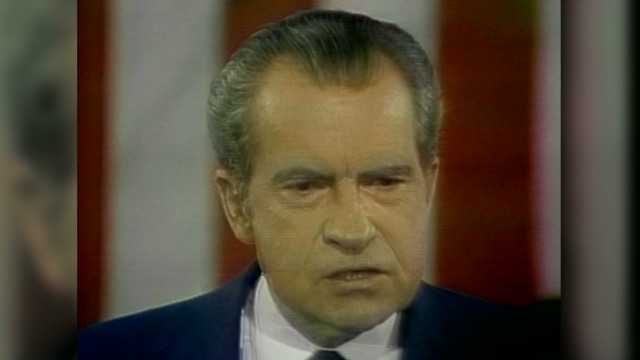 Nixon: 'One year of Watergate is enough'