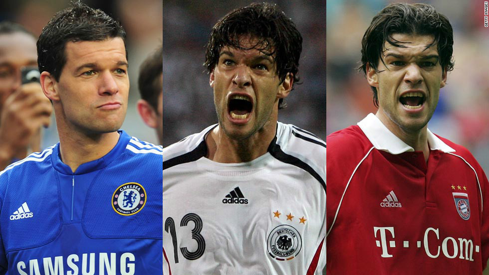 Former Germany international Michael Ballack brought the curtain down on his 17-year playing career with a match in Leipzig on Wednesday night.