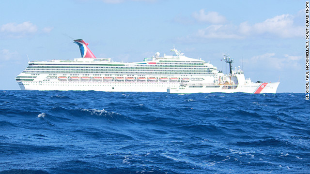Cruise ship passenger: I don't want to die