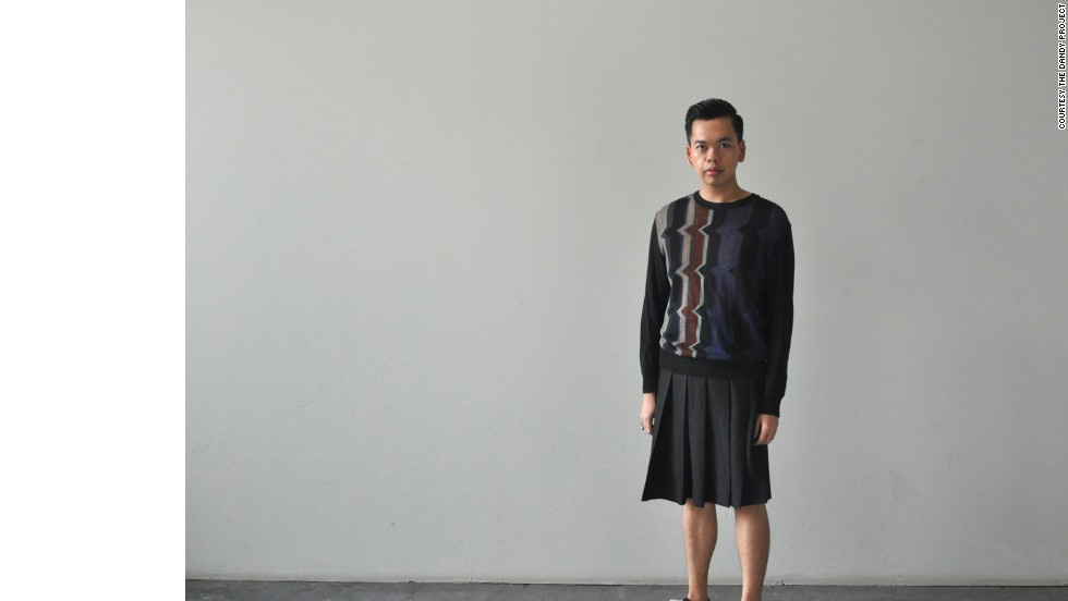 "One of the few do-it-yourself menswear bloggers, Izzy Tuason embraces foppish style ""through the appreciation of fine craftsmanship"" in his blog <a href=""http://www.thedandyproject.com"" target=""_blank"">The Dandy Project</a>, with tutorials on how to bead collars or style kilts. The ""<a href=""http://www.thedandyproject.com/2012/09/vogue-hommes-japan.html/"" target=""_blank"">boy from Manila who likes to dress up and loves to talk about it</a>"" also uses his site to show off looks mixing couture and vintage pieces from American, Japanese and Filipino designers, among others."