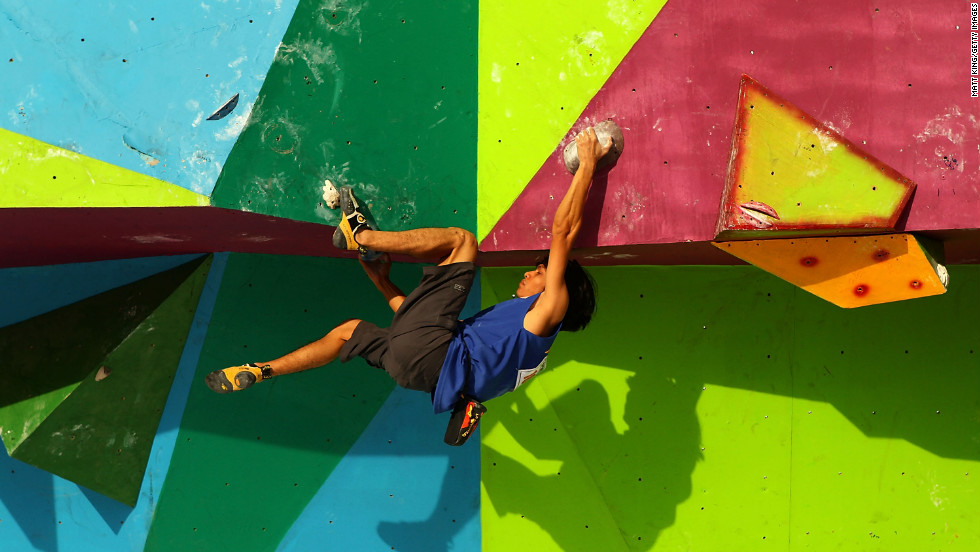 Competition climbing began in the Soviet Union in the late 1940s, according to the International Federation of Sport Climbing.