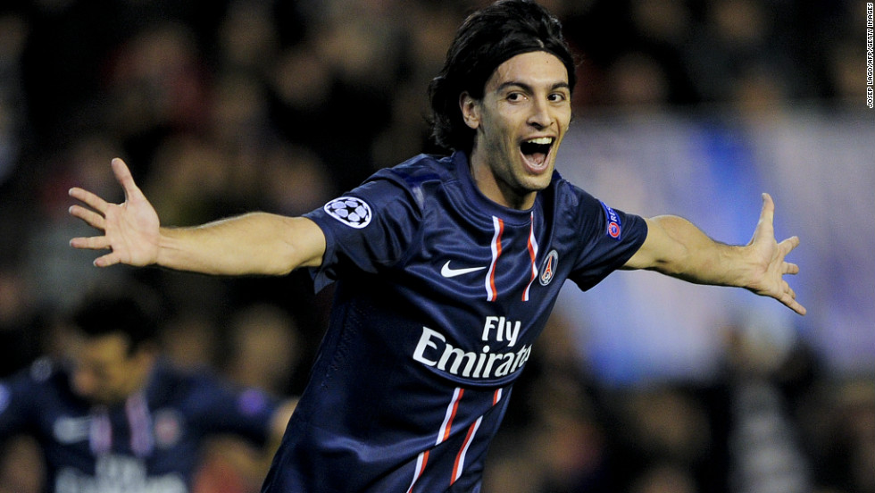Javier Pastore doubled PSG's lead with just two minutes of the first half remaining after a flowing move scythed through the Valencia defense. The talented Argentine playmaker was just one of a number of stars on show for the French club along with Ibrahimovic, Lucas Moura and Lavezzi.