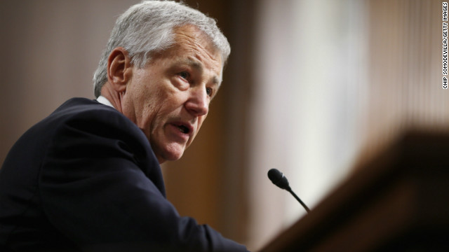 Republicans threaten Hagel filibuster
