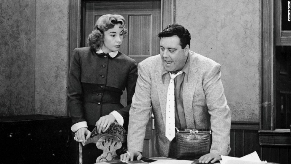 """Bang, zoom!"" probably wouldn't fly these days on a TV sitcom, but audiences loved watching Jackie Gleason and Audrey Meadows spar (every bickering TV couple owes them a debt of gratitude), and they were reassured when so many episodes ended with Ralph telling Alice, ""Baby, you're the greatest."""