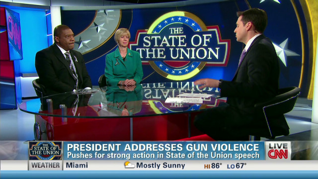 Advocates on Obama's call for gun control