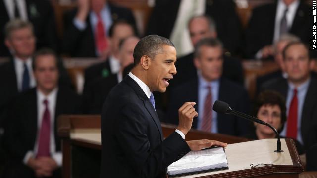 The President's moment
