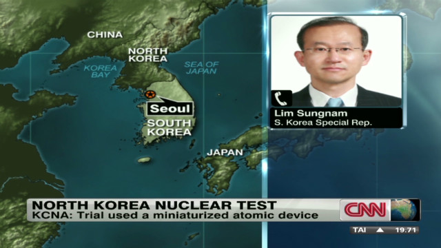What Seoul thinks of N. Korea nuke test