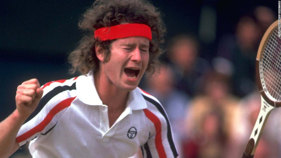 "John McEnroe is known as much for his on-court outbursts as his classic rivalries with Bjorn Borg and Jimmy Connors. Here the American tennis legend answers quickfire questions from CNN's Open Court. Himself in three words? ""Interested person overall."""