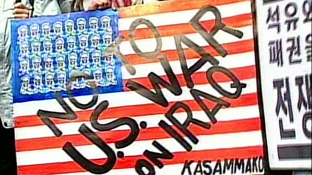 A look back at Iraq anti-war protests