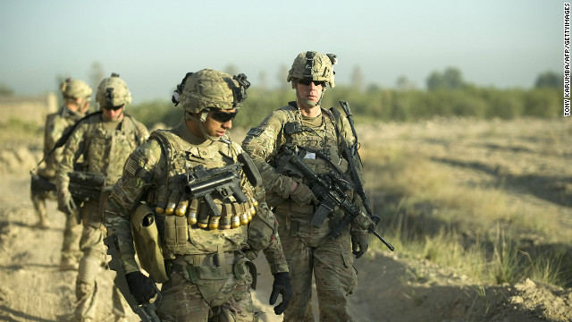 U.S. troops to return from Afghanistan