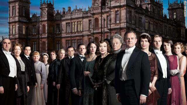 The original cast of PBS' hit series 'Downton Abbey.'