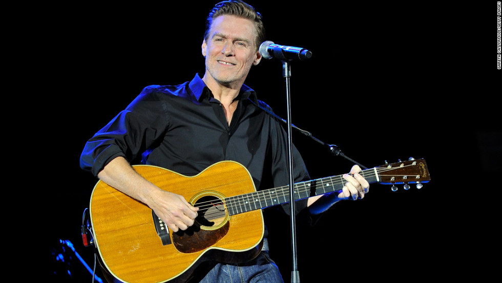 Bryan Adams says guitar defaced by Egyptian customs officials