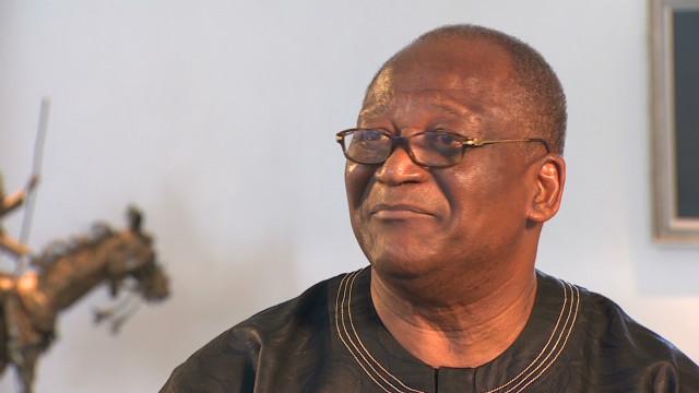Nigerian doctor talks solving famine