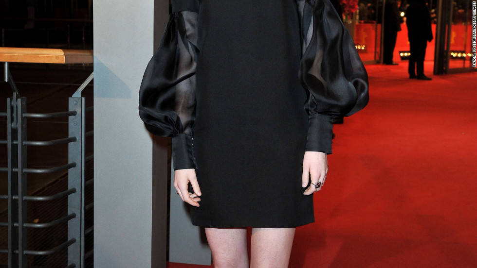 "Emma Stone attends ""The Croods"" premiere at the Berlinale International Film Festival in Berlin, Germany."