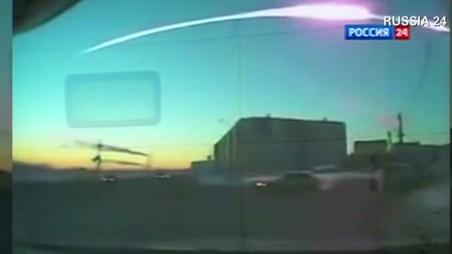 Meteor causes massive explosions