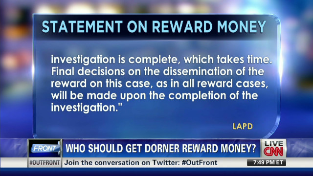 Man says he deserves Dorner reward