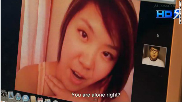"A Singapore TV station created a 10-minute ""reconstruction"" of how a webcam-blackmail scam may have gone down."