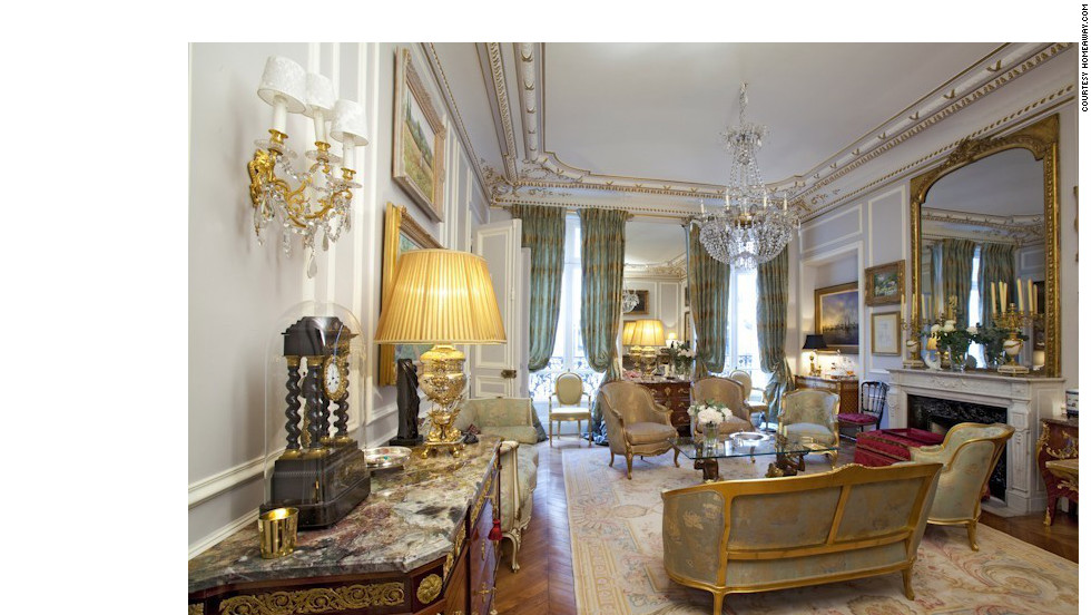"Pretend this is your place while you're in Paris. Original Louis XV and XVI antiques are part of the elegant decor in this 8th arrondissement apartment. Properties featured here are listed on <a href=""http://www.homeaway.com/"" target=""_blank"">HomeAway.com</a>."