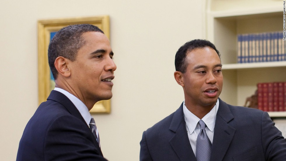 President Obama and Tiger Woods enjoyed a round of golf in Palm Beach, Florida in February this year. The press were left disappointed though, as it was a strictly private affair.
