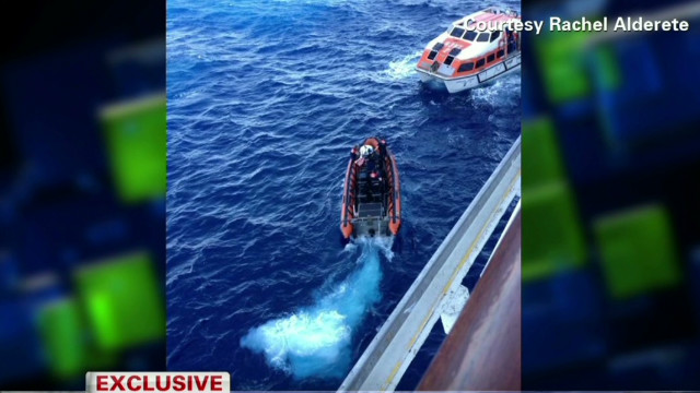 Evacuated passenger: It was scary