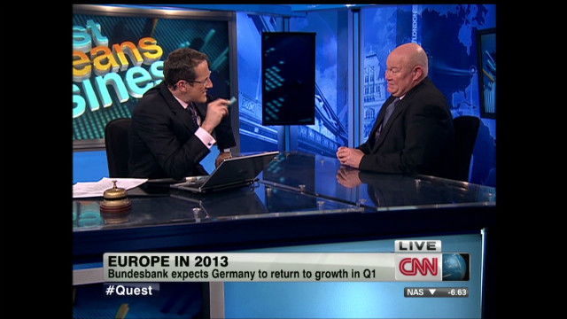 Europe 'will muddle through' in 2013