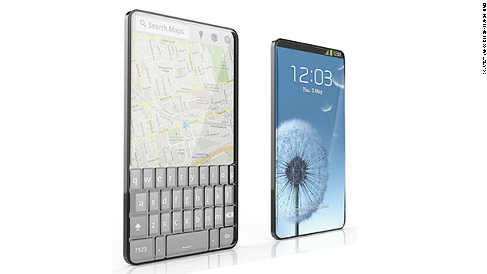 Beyond the big brands, designers are also creating unusual ideas for future mobile tech. Korean designer Seunggi Baek's Bubble Phone has a full-length touchscreen on one side and a raised bubble keypad on the reverse. The screen is transparent so users can flip the phone and use it whichever way they want.<br />Compiled by Monique Rivalland