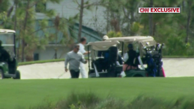 CNN Exclusive: Obama golfing in Florida