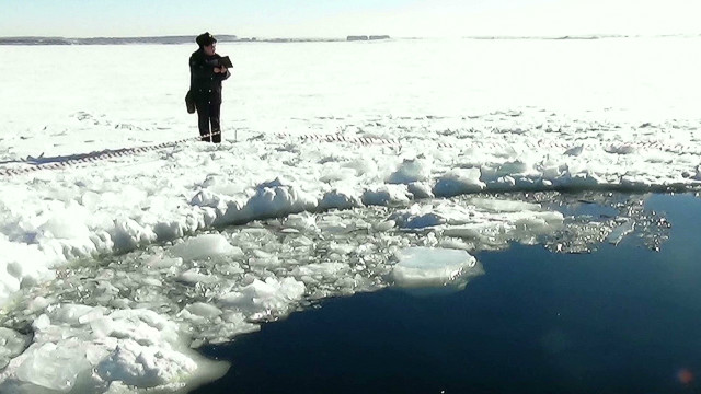 Hunting for meteorites in Russian sea