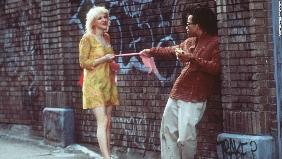 "Many critics noted that Jeffrey Wright, here with Courtney Love, seemed to inhabit the role of the doomed artist Jean-Michel Basquiat in the 1996 biopic ""Basquiat."" But that acclaim didn't translate into an Oscar nomination."
