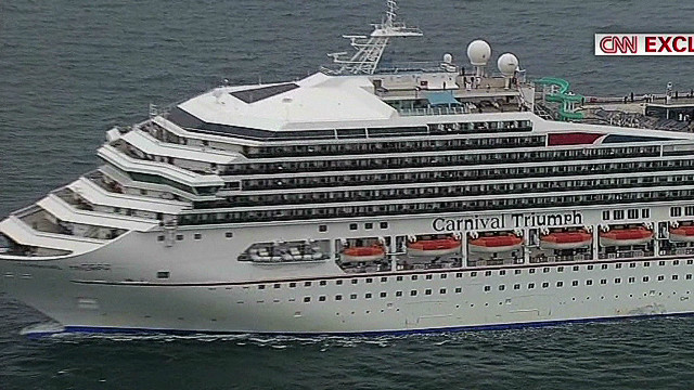 Fuel leak sparked cruise ship fire