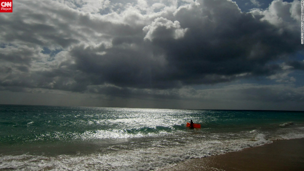 Markku Rainer Peltonen marveled at the clean air and water of Costa Calma Beach on the island of Fuerteventura. He says it is a great location for swimming and hiking.