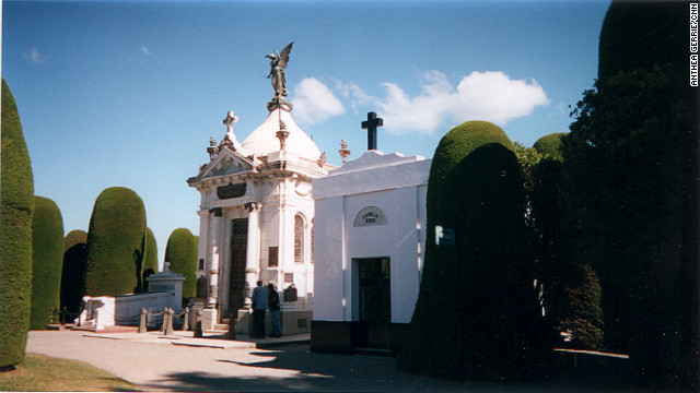 Punta Arenas Cemetery, Chile: resting place for many of Chile's wealthy.