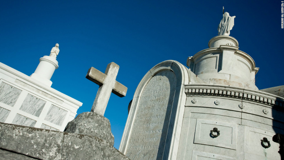 Voodoo priestess Marie Laveau (1794-1881) is one of St. Louis No. 1's more intriguing residents.