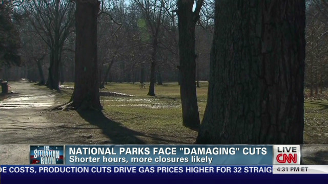 National parks face 'damaging' cuts