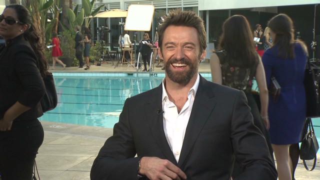 Hugh Jackman at the Oscars Luncheon