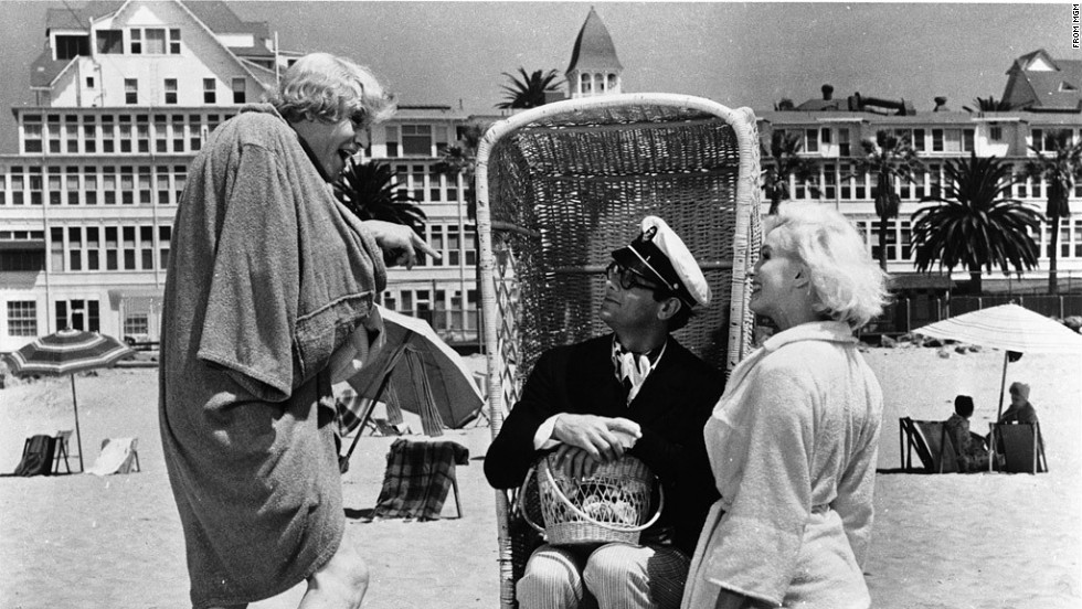 The film, starring Marilyn Monroe, Tony Curtis and Jack Lemmon, is a beloved American comedy.