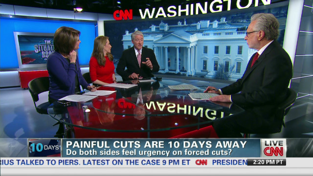CNN talks about budget cuts