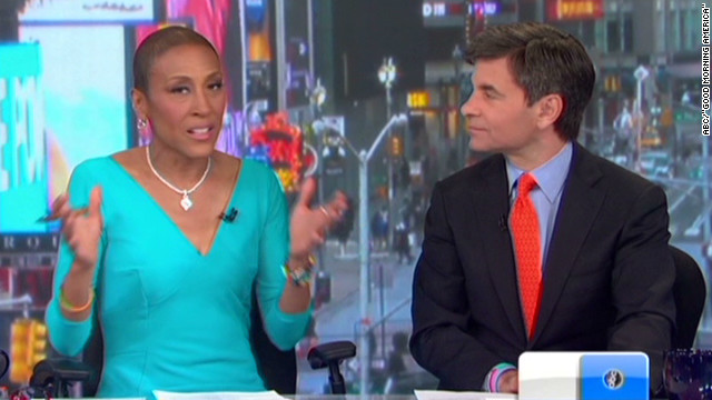 Robin Roberts returns to 'GMA'