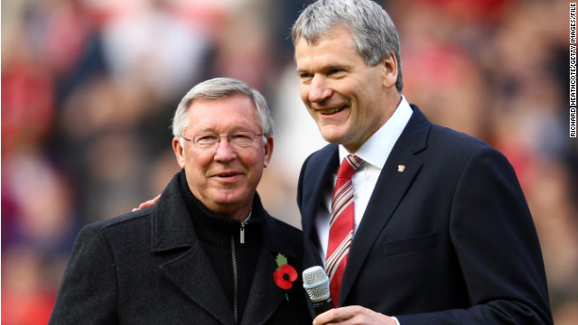 Manchester United manager Alex Ferguson was effusive in his praise for David Gill.