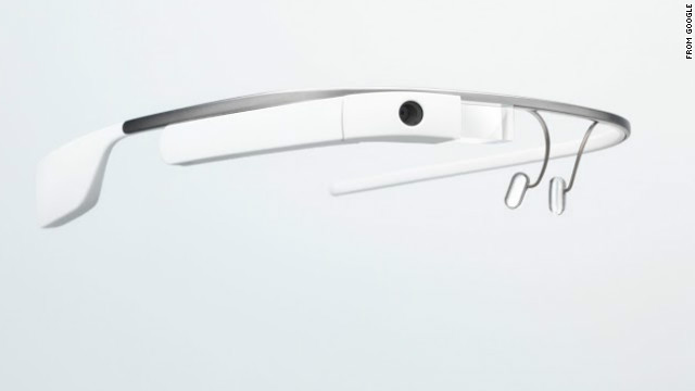 Google Glass comes equipped with a tiny camera that can snap photos and record videos.