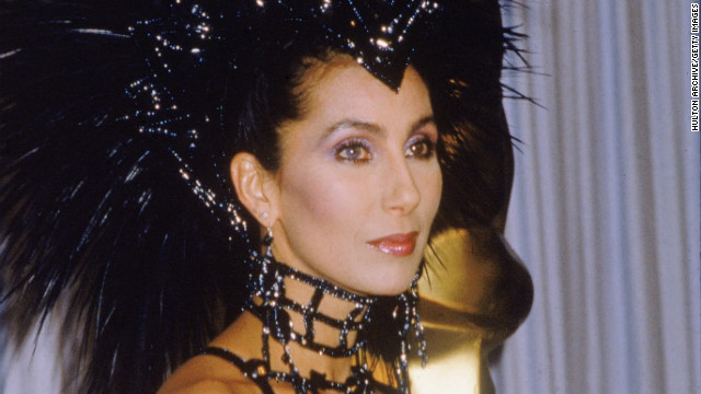 Cher got riled up enough at Donald Trump to go all-caps.