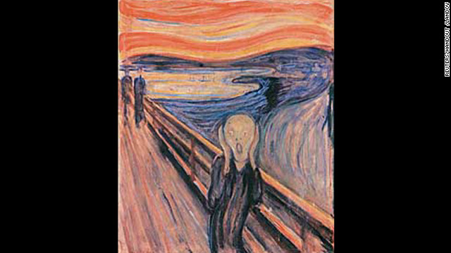"""""""The Scream"""" was one of two Edvard Munch paintings that were stolen from the Munch Museum in Oslo, Norway, in 2004"""