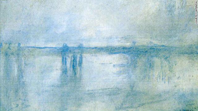 """Charing Cross Bridge, London"" (1901) by Claude Monet"
