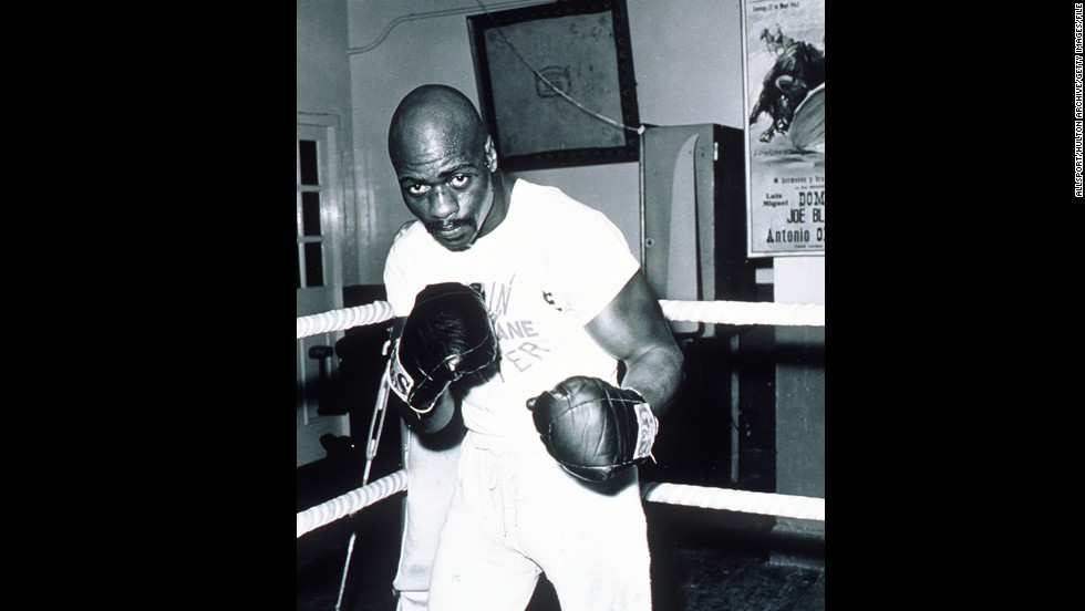 "Middleweight boxer <a href=""http://www.cnn.com/2011/CRIME/02/26/rubin.hurricane.carter.book/index.html"" target=""_blank"">Rubin Carter</a>, known as ""Hurricane"" in the ring, served 18 years in prison for a triple homicide that took place in a bar in 1966. A federal judge overturned his sentence and that of his supposed accomplice, John Artis, in 1985, ruling that the conviction was based on ""racial stereotypes, fears and prejudices."""