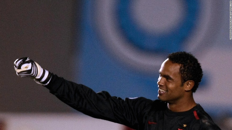"<a href=""http://www.cnn.com/2013/03/08/sport/brazil-goalkeeper-conviction/index.html"" target=""_blank"">Bruno Fernandes das Dores de Souza</a>, a former goalie for the Brazilian soccer club Flamengo, was convicted in the murder of his ex-girlfriend, a court said in March 2013. He was sentenced to 22 years and three months for the murder of Eliza Samudio, who had disappeared in 2010. Souza, his lover and his ex-wife were among nine people charged with torturing and murdering Samudio, who had been trying to prove Souza had fathered her son."