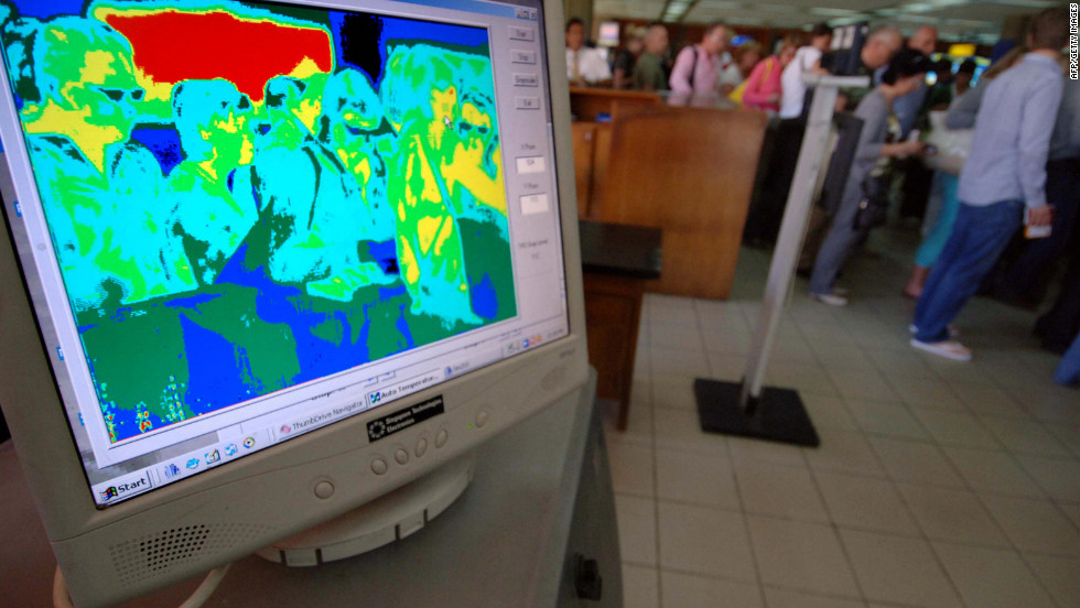 Thermal scanners that measure body temperature became normal sights at airport immigration halls around the world in the aftermath of SARS in 2003.