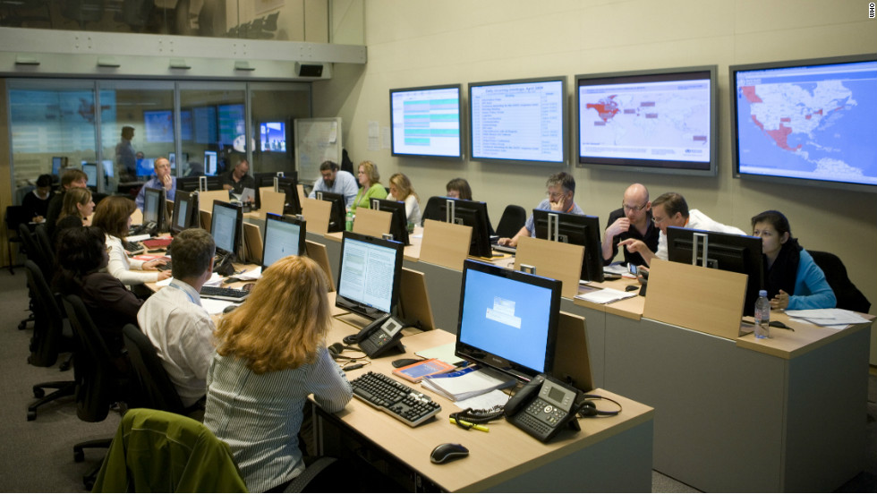 "In the basement of the World Health Organization in Geneva, Switzerland sits the ""SHOC"", or Strategic Health Operations Center. This room acts as the nerve center of WHO's global epidemic response providing a single point of coordination for response to acute public health crises."