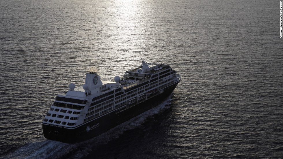 The Azamara Quest won the best overall, best for fitness and best for service awards in the small-ship category. The smaller ships can sail into ports where big ships could never go.