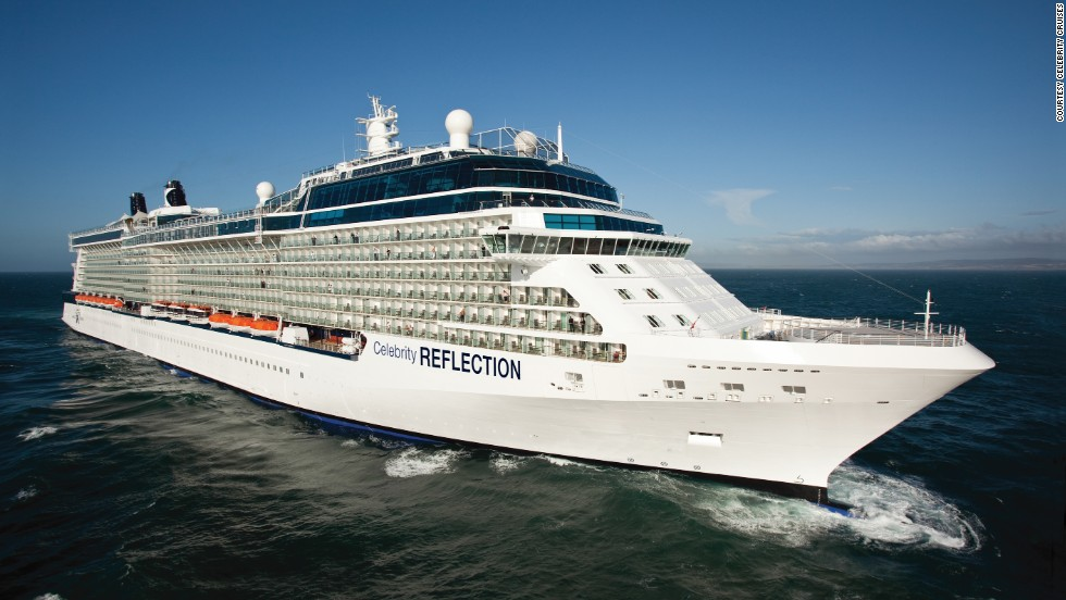 """The Celebrity Reflection won over the stomachs of its cruisers, taking the """"best dining"""" award in the big ship category."""